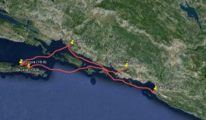 Route bij verhaal 11