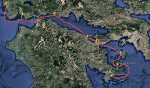 Route bij verhaal 16